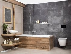Bathroom Designs With Vintage Industrial Charm - nyamanhome