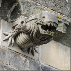 People desperately want to find some kind of mystery in the stone carvings of Salamanca's restoration pieces -- the facts are that the modern stone carvers had fun with the project, adding an 'Alien', as well as one of the Gremlins from the movie of the same title, Darth Vader, and an astronaut in full space suit.