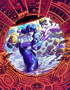 Megaman Tribute by ~zsabreuser on deviantART