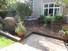 ideas for backyard decks | Pink House: The New Backyard/Patio/Deck Project