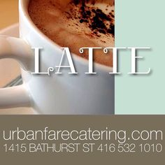 #urbanfarecatering Latte, Catering, Social Media, Tableware, Projects, Instagram, Log Projects, Dinnerware, Catering Business