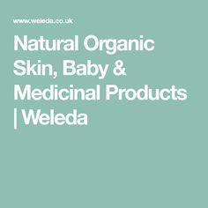 Natural Organic Skin, Baby & Medicinal Products | Weleda Free Products, Cruelty Free, Medicine, Organic, Natural, Baby, Babies, Infant, Nature