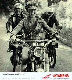 Brigitte Bardot yamaha solex