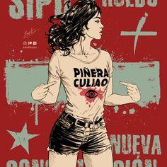 Apruebo Chile, Random, Memes, Movie Posters, Ideas, Gift, Frases, Political Art, Fashion Background
