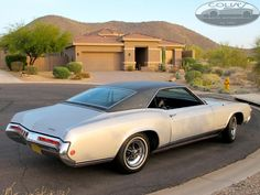 """""""Betsy""""    I learned to drive in this 68 Buick Riviera.  Love That Car <3"""