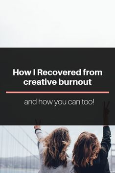 Feeling unmotivated to write, photograph, paint, etc? Learn how I recovered from creative burnout and how you can find the inspiration and motivation you once had with your work & art!