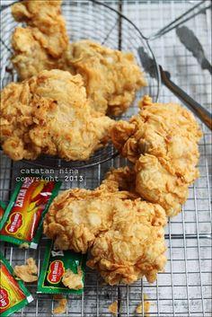Catatan Nina: FRIED CHICKEN ALA KFC