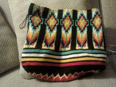 De tas voor mijn schoonmoeder in de maak!