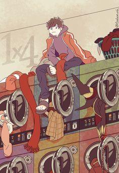 Osomatsu San Doujinshi, Ichimatsu, Urban Legends, Ship Art, Cute Art, Anime Guys, Manhwa, Art Projects, Brother