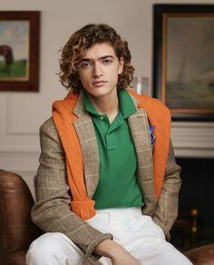 Ralph Lauren Style, Polo Ralph Lauren, Summer Blazer, Summer Coats, Timeless Fashion, Cable Knit, Preppy, Polo Shirt, Street Style