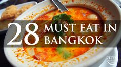 Bangkok is a shopping haven for girls but a food haven for everybody! Thai food is just Aroi Mak Mak (Very Very Delicious) and you got to try as many as possible during your trip to Bangkok or Thailand. First timers to Bangkok will probably not know what are the Must Eat food in