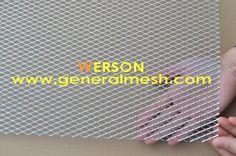Китай Хэбэй Генеральный Металл сетки Компания предлагает Алюминиевая сетка в бампер для защиты радиатора с ромбовидными ячейками Email : sales@generalmesh.com Skype:jennis01 Wechat: 148117712