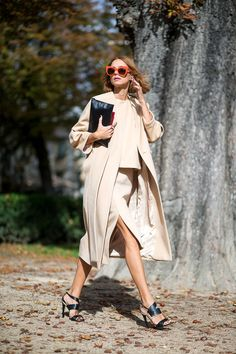 On the note of simplicity, stick to hushed tones and color palettes. Parisian women are laid back, but not boring, and their confidence shines through without having to wear loud hues that desperately scream for attention.   - HarpersBAZAAR.com