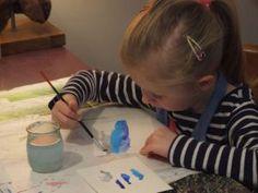 Atelier enfants, peinture, Citémômes, Rouen