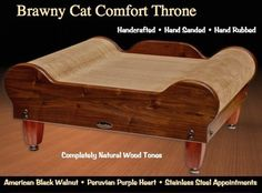 Brawny Cat Comfort Throne – The Ultimate Cat Scratcher Lounge