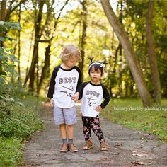 Geschwister Shirt Set beste Freunde von PineapplePancakeKids