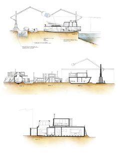 The Barge Graveyard Residence - Adam Lampon Architecture Portfolio