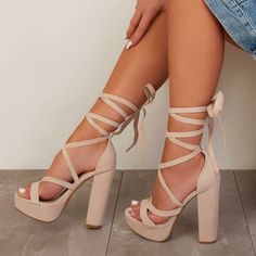 high heels – High Heels Daily Heels, stilettos and women's Shoes Cute Heels, Lace Up Heels, Pumps Heels, Stiletto Heels, Nude Sandals, Heeled Sandals, Shose Heels, Sandals 2018, Designer Shoes