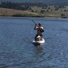 iRocker Inflatable Paddleboard review #camper #camping #rving #rvlife #travel #traveldiaries #happycamper #vegancamping #getoutside #outdoorlife #campinglifestyle #campvibes #gorving #roadtrip #colorado #glamping #optoutside #mountains