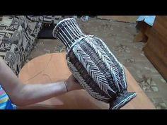 мк напольной вазы с подставкой на двойных стенках часть 3