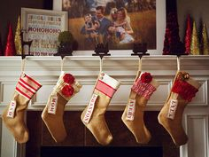 13 Personalized Christmas Stockings Worth Hanging