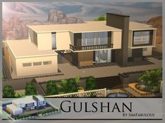 The Sims Resource: Gulshan residential home by SimFabulous • Sims 4 Downloads