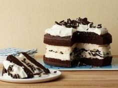 A Step-by-Step Guide to Homemade Ice Cream Cake : <p>You can make your own cake and ice cream or use store-bought ingredients. Either way, to construct your ice cream cake, you'll be alternating layers of ice cream with cake, or with crumbled cookies, or even with dessert sauces like chocolate or butterscotch. When making an ice cream cake, it's essential to work quickly, so that the ice cream doesn't melt. Otherwise, ice crystals could form when you freeze the finished cake. Here's our…
