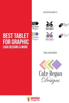 The Best Tablet For Graphic Design blog post by Kenal Louis. #graphicdesign #design Digital Drawing Tablet, Digital Tablet, Art Tablet, Free Pen, Branding, Logo Design, Graphic Design, Wacom Intuos, Article Design