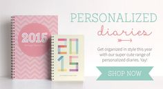 Getting organised has never looked so cute! Decorate your 2015 diary with our adorable range of FREE Diary Printables and never forget a thing! Yay.