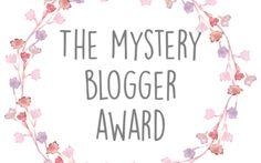 Ich wurde für den Mystery Blogger Award nominiert - wie cool ist das denn?! *strahl*  Ein Award? Da denkt man gleich an irgendwelche tollen Pr