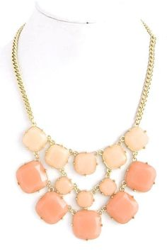 Peachy Keen Necklace