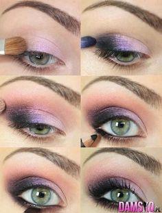 Bardzo ładnie pomalowane oko
