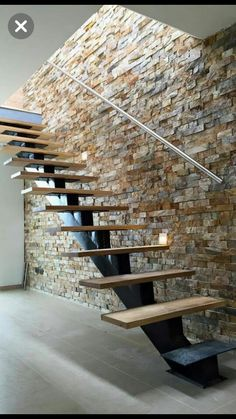 design of staircase wall \ design of staircase ; design of staircase wall ; design of staircase armrest ; Stone Interior, Interior Stairs, Interior Design, Showroom Design, Design Interiors, Interior Modern, Wall Design, House Design, Stair Design