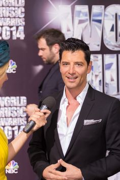 Sakis Rouvas at World Music Awards!