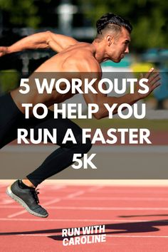 5 essential workouts for a faster 5k - Run With Caroline Interval Running Workouts, Beginner Cardio Workout, Running Drills, Fast Workouts, Endurance Workout, Endurance Training, Hard Workout, Workout For Beginners, Running Tips