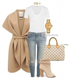 """""""Untitled by stylebydnicole ❤ Forever New, Louis Vuitton, Helmut Lang, Current/Elliott, Kristin Cavallari and Versace Fashion Mode, Look Fashion, Winter Fashion, Womens Fashion, Fashion Trends, Ladies Fashion, Spring Fashion, Classy Fashion, Cheap Fashion"""