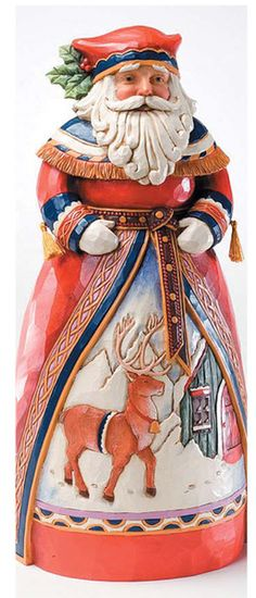 Jim Shore Old Fashioned Lapland Santa