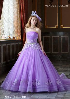 Nice Dresses, Formal Dresses, Wedding Dresses, Disney Princess Dresses, Beautiful Costumes, Purple Dress, Ball Gowns, Outfits, Color