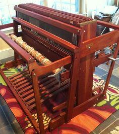 "Beautiful 50"" 8 shaft Norwood Cherry loom"
