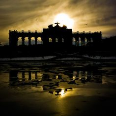 Great shot of the Gloriette in the Schönbrunn Palace Gardens, Vienna, Austria Visit Austria, Vienna Austria, Great Places, Places Ive Been, Beautiful Places, Vienna Waits For You, Places Around The World, Around The Worlds, Places To Travel