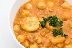 Chickpea Sauce with Banana and Peanut Butter