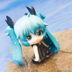 """""""Emerging from the deep water."""" by animaster Vinyl Figures, Action Figures, Otaku, Kawaii Doll, Anime Toys, Anime Figurines, Cute Clay, Smart Doll, Cute Japanese"""