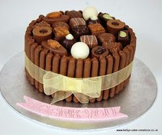 Adult - Kelly's Cake Creations chocolate box cake