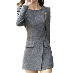 Partiss Damen Fleece Wintermantel Tweed Coat Jacke, 36,grey Partiss http://www.amazon.de/dp/B00PNE6Y7G/ref=cm_sw_r_pi_dp_CnYzub0YEXTZT
