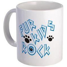 Fur Kids Rock Mugs