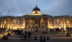 The National Gallery is an art museum in Trafalgar Square in the City of Westminster, in Central London - Ted Frank