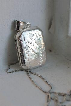 Sterling Silver Book Locket  $55.00