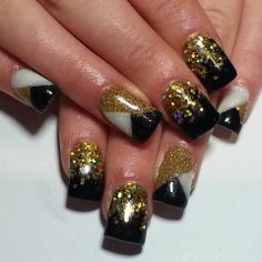 New years inspired by the nail boss