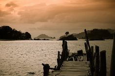 Afternoon at Kiluan Bay, Lampung, Indonesia.  (by azzraa-stuff)