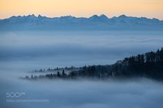 Landscapes : Gaze to the alps - MatEngel. #Pinterest #photo #photography #landscape #people #girl #girls #hot #naked #cute #food #sport #travel #dress #fashion